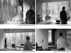 Williams Residence Bedford NY. 2003 (Project Architect at Architekturburo Peter Zumthor) http://www.pavlinalucas.com/williams.html