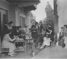 Ladies At Hollywood Studio Club