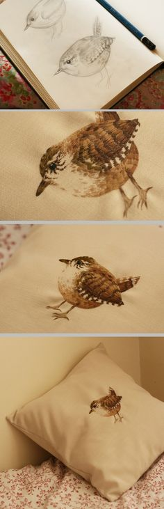 Embroidery by Chloe Giordano ~ from inspiration to finish.   #textile