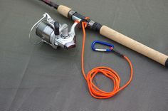 Series 1 Kayak Fishing Rod / Paddle Leash by 550outfitter on Etsy