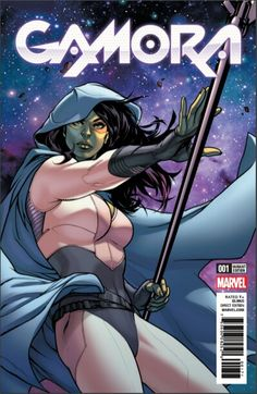 Gamora #1 (2016) Frankie's Comics Exclusive Variant Cover by Emanuela Lupacchino