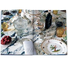 Get lost in the luxurious world of Valentino Garavani through VALENTINO: The Emperor's Table.