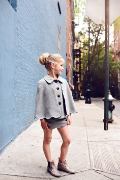 Enfant Street Style by Gina Kim Photography Hucklebones dress Toddler Outfits, Outfits For Teens, Children Outfits, Cool Kids Clothes, Dope Clothes, Vintage Girls Dresses, Street Style Blog, Stylish Kids, Kid Styles