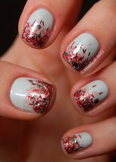 101 Cute Christmas Nail Designs for the Festive Season   Nail Art, Hairstyles & Beauty Tips