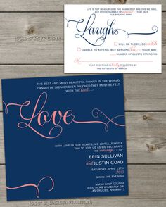 Merewether surfhouse wedding invitations