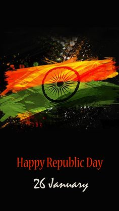 Abstract India Flag with Dark Background for Republic Day for Mobile Phone - HD Wallpapers Republic Day Images Pictures, Republic Day Photos, Republic Day India, Independence Day Wallpaper, Independence Day Background, Independence Day India, Indian Flag Wallpaper, Indian Army Wallpapers, Editing Background