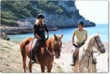Menorca a Cavall | Menorca a caballo #menorca #menorcamediterranea Riding Stables, Horse Riding, Menorca, Cala Galdana, Costa, Balearic Islands, Beautiful Places To Visit, Countryside, Beaches