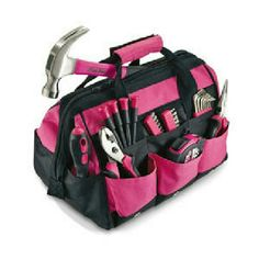 Special Offers Available Click Image Above: Pink Box Home Repair Set - Pink Box Home Tool Kits - Pink Hand Tools Pink Tool Box, Everything Pink, Do It Yourself Home, Home Repair, Tool Set, My Favorite Color, Favorite Things, Pretty In Pink, Perfect Pink