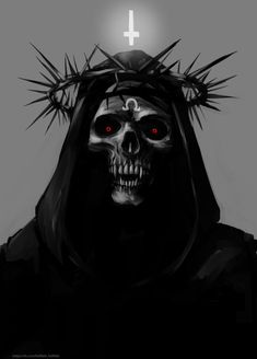 Arte Horror, Horror Art, Arte Peculiar, Arte Black, Totenkopf Tattoo, Satanic Art, Evil Art, Arte Obscura, Demon Art