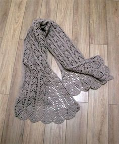 crochet scarf patterns | charming crocheted scarf - crafts ideas - crafts for kids