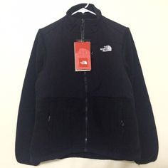 ❗️TODAYS ONLY ❗️North Face Winter Denali Jacket NEW WITH TAGS  THE NORTH FACE Retail: $179 Denali Fleece Jacket  *Classic fleece for warmth in cool-to-cold conditions *Zip-in compatible *Fleece-lined *Abrasion-reinforced shoulders and elbows *Napoleon chest pockets *Two hand pockets *Elastic-bound cuffs  Color: Black Fabric: Polyester and Cotton fleece The North Face Jackets & Coats