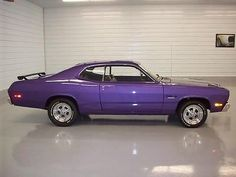 purple muscle cars | 1973 Plymouth Duster Plum Crazy Purple-muscle Car-hot Rod-restored ...
