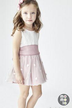 MOMOLO   moda infantil    Vestidos Tartaleta, Lazos Tartaleta, niña, 20160711004231