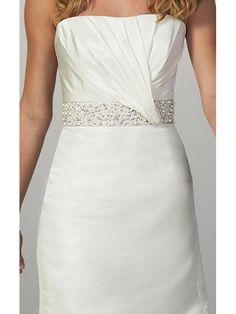 Silk-Taffeta-Strapless-Mermaid-Wedding-Dress-with-6.jpg (546×728)
