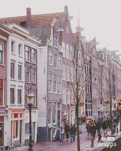 Amsterdam Photography, Travel Photography, Architecture, European Photography, Typical Dutch Houses, Street, Home Decor - Away