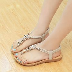 bab5d9620fa 44 Best Summer shoes images in 2018 | Flat sandals, Flat Shoes, Flats