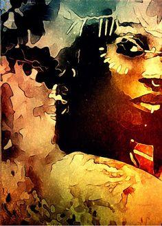 Lydia Anneli Bleth: BELLA DONNA digital art / google&BELLA DONNA…