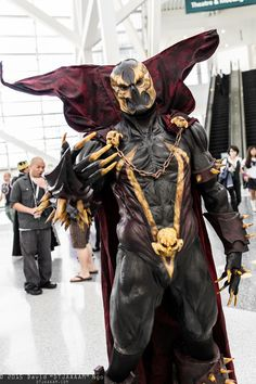 Spectacular Spawn cosplay, by REbirth MxD https://www.facebook.com/XxREbirthMxDxX/