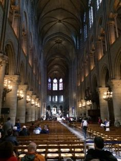 Cathedral in Paris Amazing