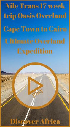 Discover Africa Divergent Travelers Media and Oasis Overland. 17 Weeks Nile Trans Camp Town To Cairo Ultimate Overland Expedition Video. Click to see the video at http://www.oasisoverland.co.uk/community/videos/77/