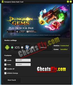Dungeon The Dungeon Gems Android APK hack tool features the best cheat codes! Check out this awesome list: – Unlimited Gold – Infinite Crystals Connect Games, Android Apk, Hack Tool, Cheating, Gems, Coding, Hacks, App, Crystals
