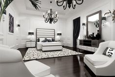 master bedroom - contemporary - bedroom - other metro - Yasser Moustafa