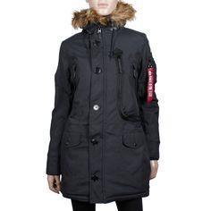 ALPHA Industries Polar Winterjacke Women schwarz online Winterjacken bei Mode Freund bestellen ab 50€ Versandkostenfrei auch auf Rechnung