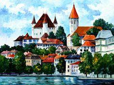 Germany paintings by Leonid Afremov https://afremov.com/Germany/