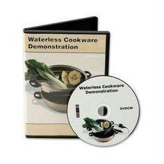 Informative Cookware DVD for Waterless Cookware