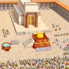 Arc Of The Covenant, Solomons Temple, Bible Timeline, Jewish Temple, Bible Topics, Messianic Judaism, Bible Study Notebook, Bible Illustrations, The Tabernacle