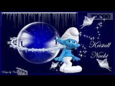 Gute Nacht Kuß - ich denke an dich ;) Träume, Zoobe, Animation - YouTube Snow Globes, Smurfs, Youtube, Greeting Cards, Romantic, Movies, Simple, Good Morning, Entertaining