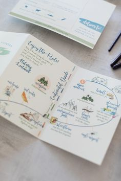 Illustrated Wedding Weekend Map- Invitation Suite Details – About Wedding Dresses Map Wedding Invitation, Wedding Invitation Inspiration, Wedding Stationary, Invitation Suite, Illustrated Wedding Invitations, Invites, Wedding Paper, Wedding Cards, Diy Wedding