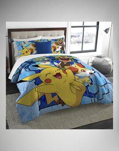 Pokemon Big Pikachu Twin/Full Comforter