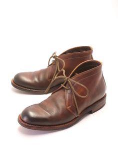 MOTO Chukka boots BROWN #1400
