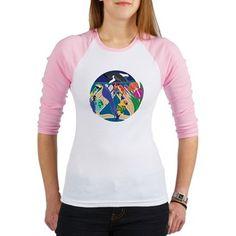 Tropical Creation Junior Ladies Baseball Jersey