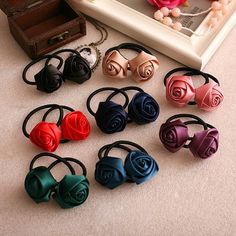 South Korean exports handmade ribbon flower headdress hair accessories hair ring Hair Accessories Wholesale (a price) M