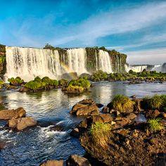 Iguazu Falls. Via T+L (www.travelandleisure.com).