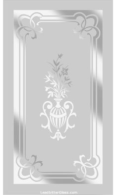 Victorian Etched Glass Panels Page 3 - Window Glass Design, Glass Partition Designs, Frosted Glass Design, Door And Window Design, Frosted Glass Door, Glass Doors, Etched Glass Door, Glass Etching, Pooja Room Door Design