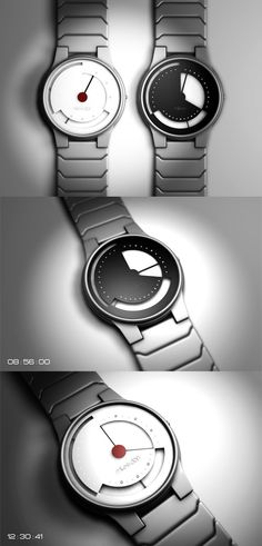Analog watch concept from Creattica.