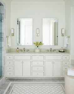Amber Interiors Design Studio is a full-service interior design firm based in Los Angeles, California, founded by Amber Lewis. We serve clients worldwide with services ranging from interior design, interior architecture to furniture design. House Bathroom, Interior, Apartment Design, Amber Interiors Bathroom, Amber Interiors, Bathrooms Remodel, Bathroom Design, Bathroom Decor, Amber Interiors Design