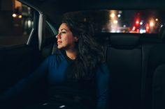 Image result for girls in backseat of taxi ad