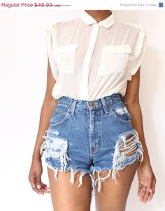 I want some high waisted vintage shorts for spring/summer!