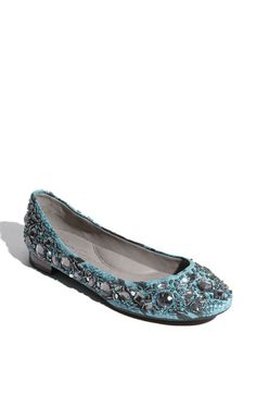 Something blue... (flats for when your feet start hurting from the heels!)