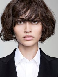 Bob Hairstyle With Bangs
