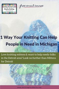 Love knitting mittens