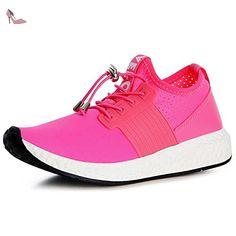 topschuhe24 , Baskets pour femme - rose - rose fluorescent, - Chaussures topschuhe24 (*Partner-Link)