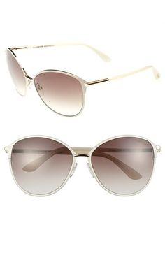 675dca712fd Tom Ford Penelope 59mm Gradient Cat Eye Sunglasses