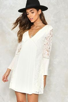 Stuck On You Lace Dress $70.00