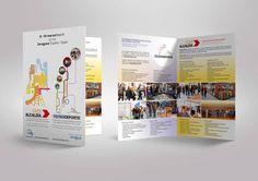 #diseño del #folleto de la Feria de Expoalcaldía y Tecnodeporte en la Feria de Zaragoza.