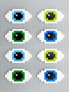 Lego | 8-bit eyes